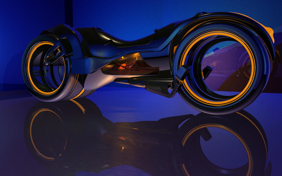 Tron Cycle HD by b1gdan