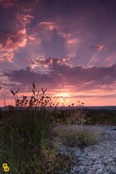 Sunrise at Punta Grosso