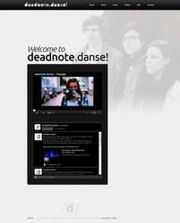 deadnote.danse Webdesign