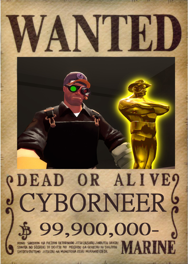 cyborneer one piece bounty by shadowz574 on deviantart