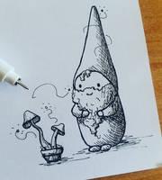 2017 - 09 - Sketch - Leprechaun