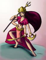 Original - Durga by cheetah-smith