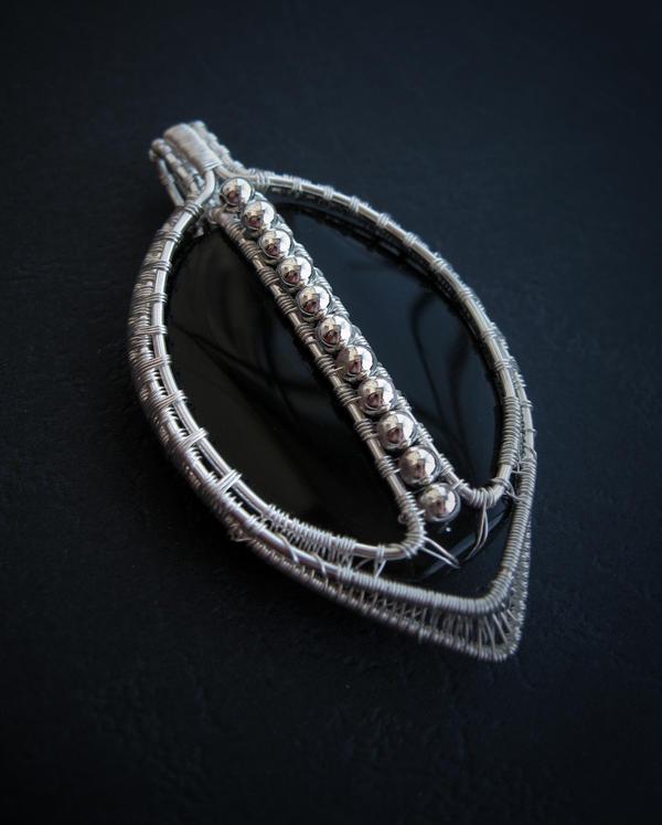 Onyx Pendant by diana-irimie