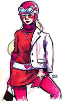 Penelope Pitstop by ExIllustrated