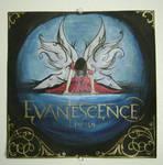 evanescence record album cover
