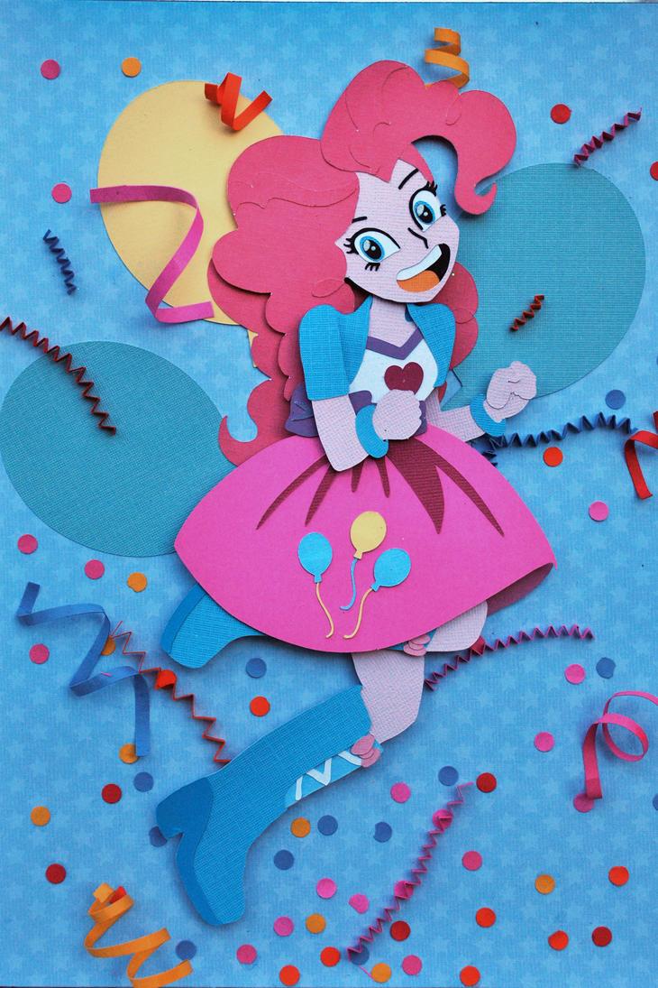 EG Pinkie Pie Shadowbox by QueenLilSis