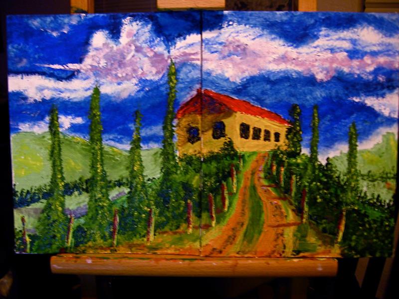 Tuscany II by Decarabia69
