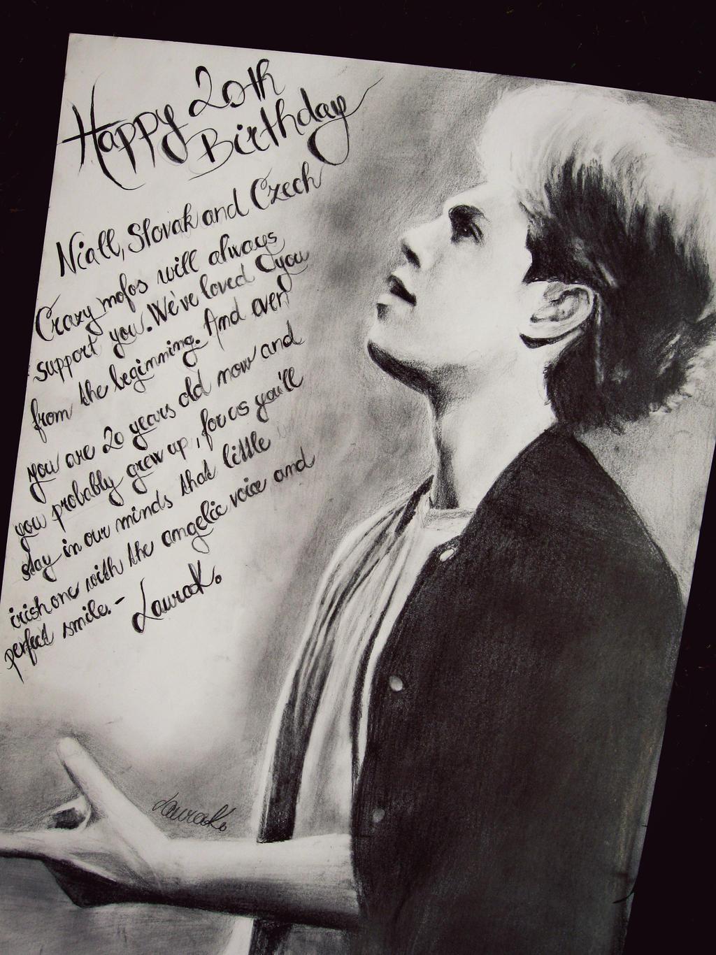 Niall horan drawing 2018