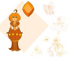 Pumpkin Diamond (SU OC) by Jimmy-McHamsteak