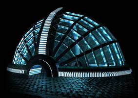 Dome in Darkness by froggy-hicks