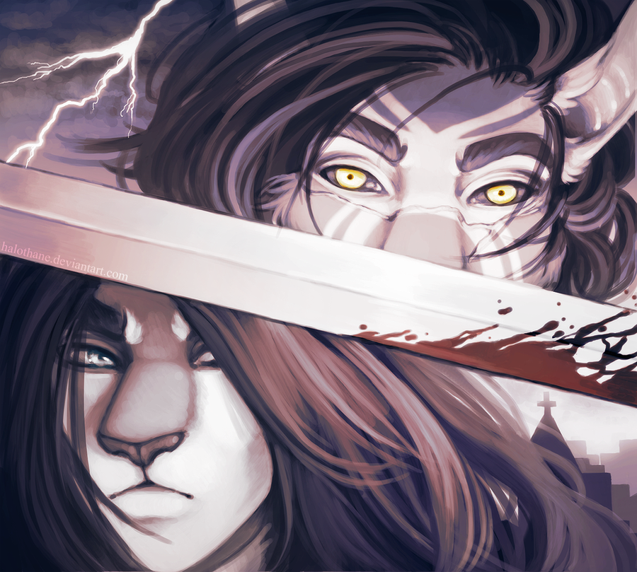 Wrong End of the Sword by danielleclaire