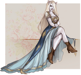 [PER] Blonde by danielleclaire