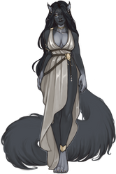 Premade Character Auction - Storm in Silks - Sold by danielleclaire