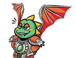 Super Dark Great Dragon Boyfriend by Carbonilhil