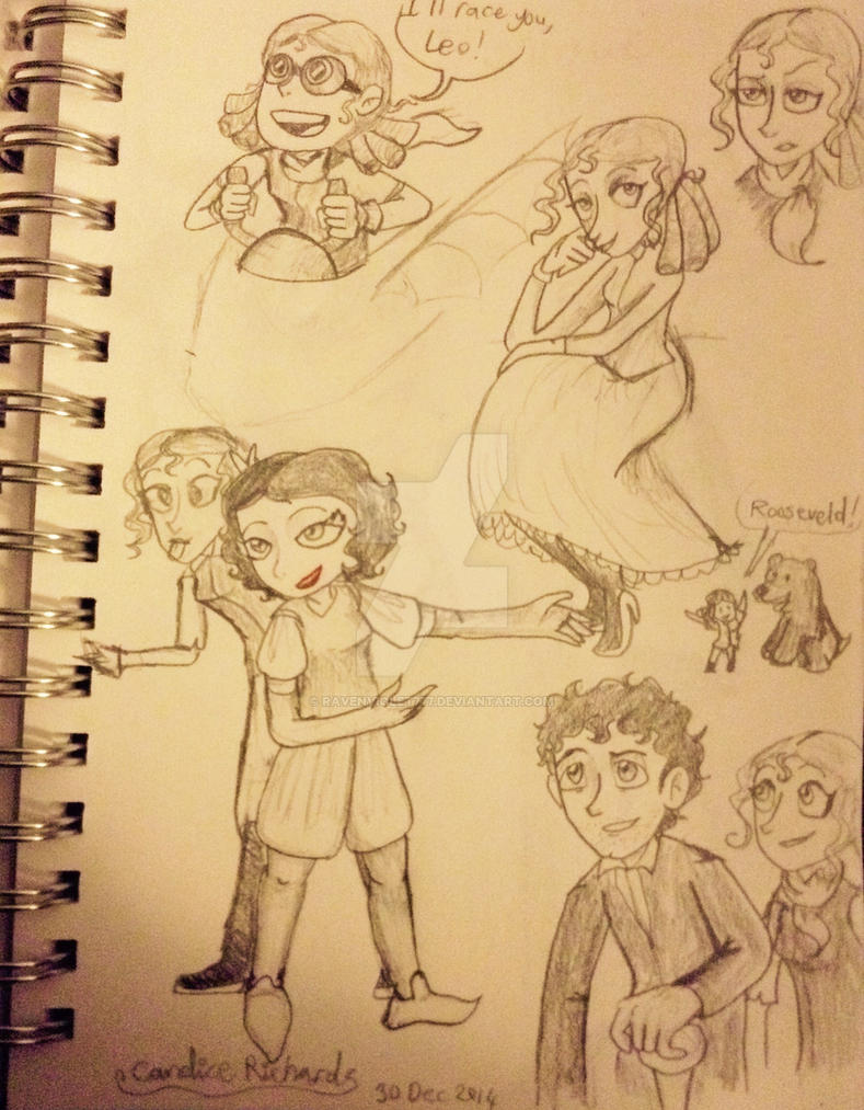 Really Belated Ada Bday Doodles By Ravenviolet777 On