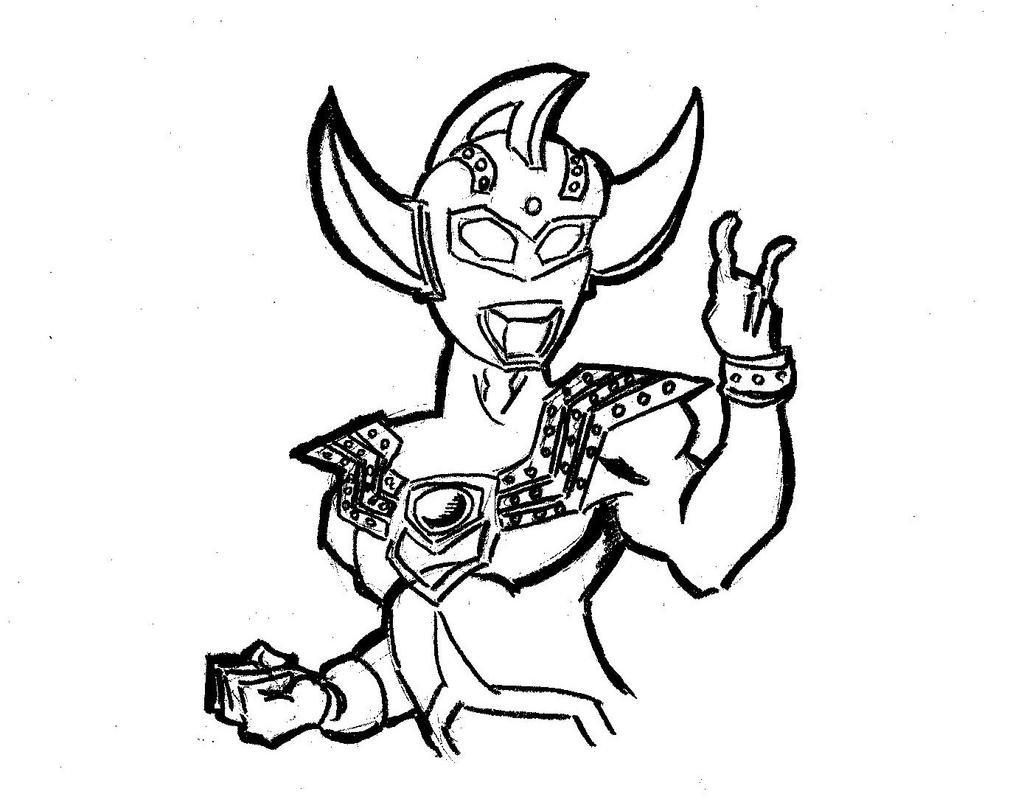 Ultraman Taro Free Coloring Pages