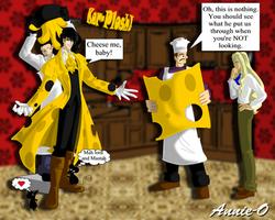 A Cheesy Vampire by Annie-O