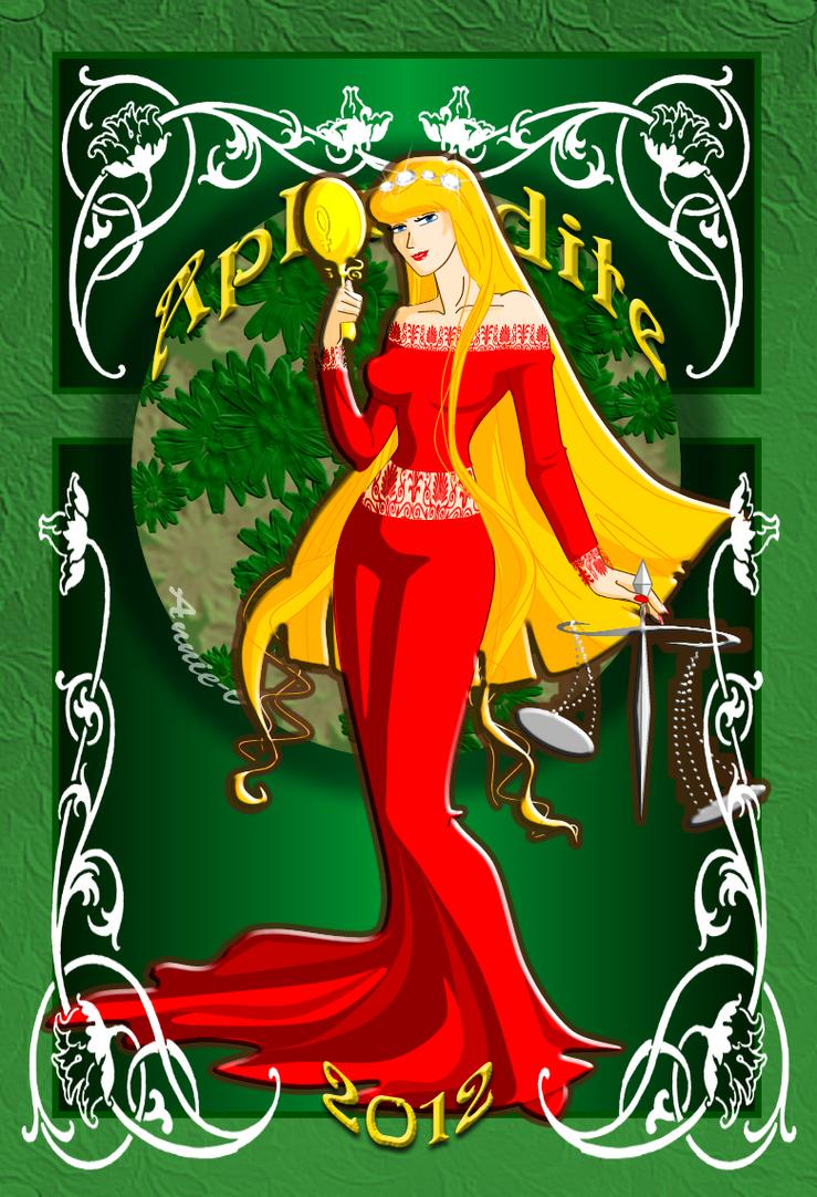:Mucha: Aphrodite by Annie-O