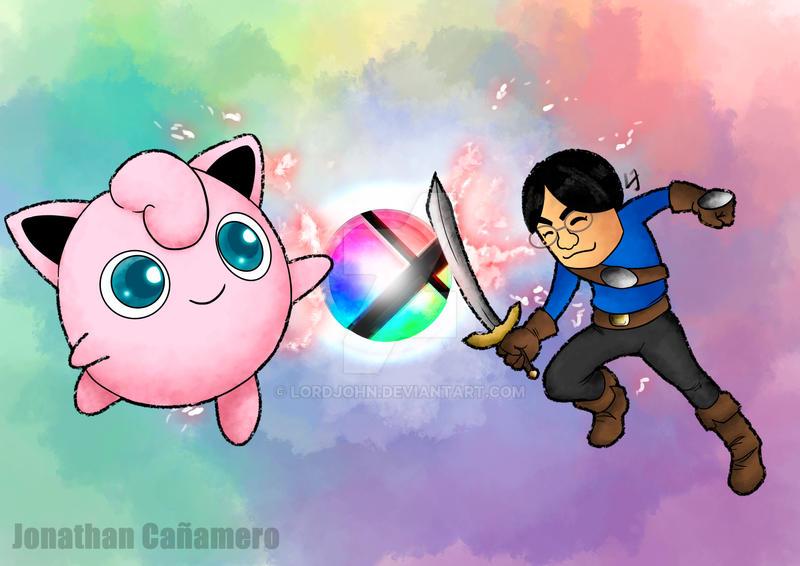 Iwata vs Jigglipuff by LordJohn