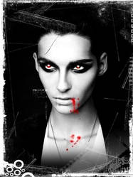 Bill Kaulitz Vampire by leiptz