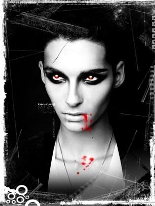 Bill Kaulitz Vampire by leiptz