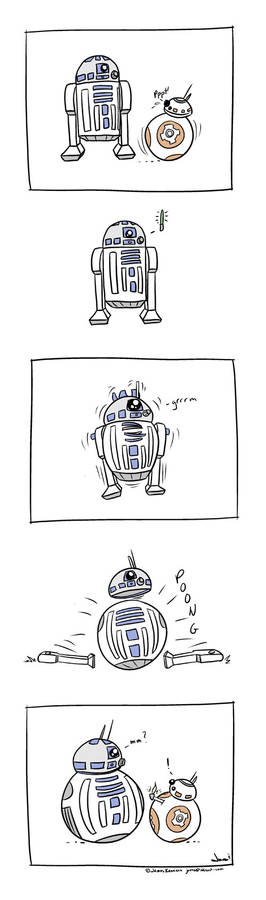 R2-D2 and the New Kid