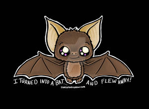 Little Bat - T shirt Design