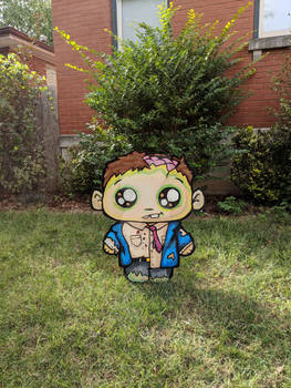 Little Zombie Lawn Decoration