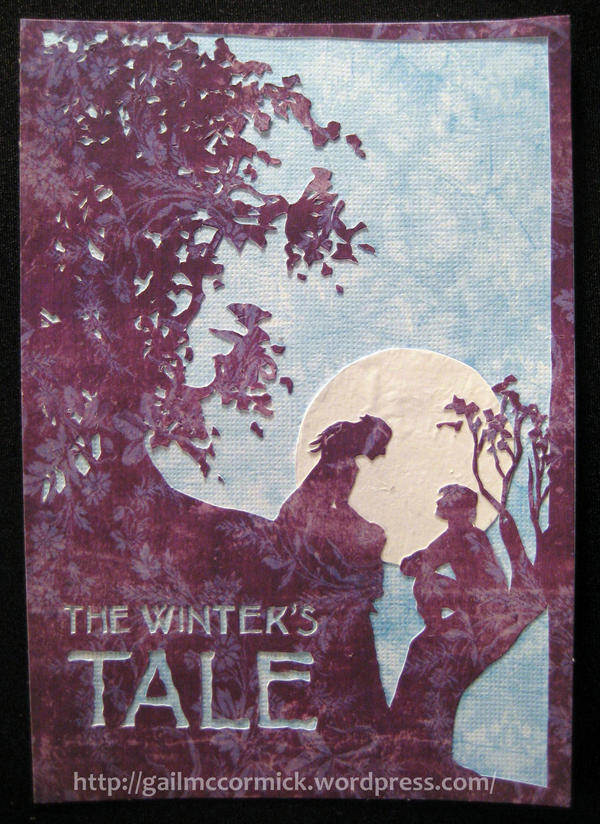 Winter's Tale Poster - Paper by zippybluedwarf
