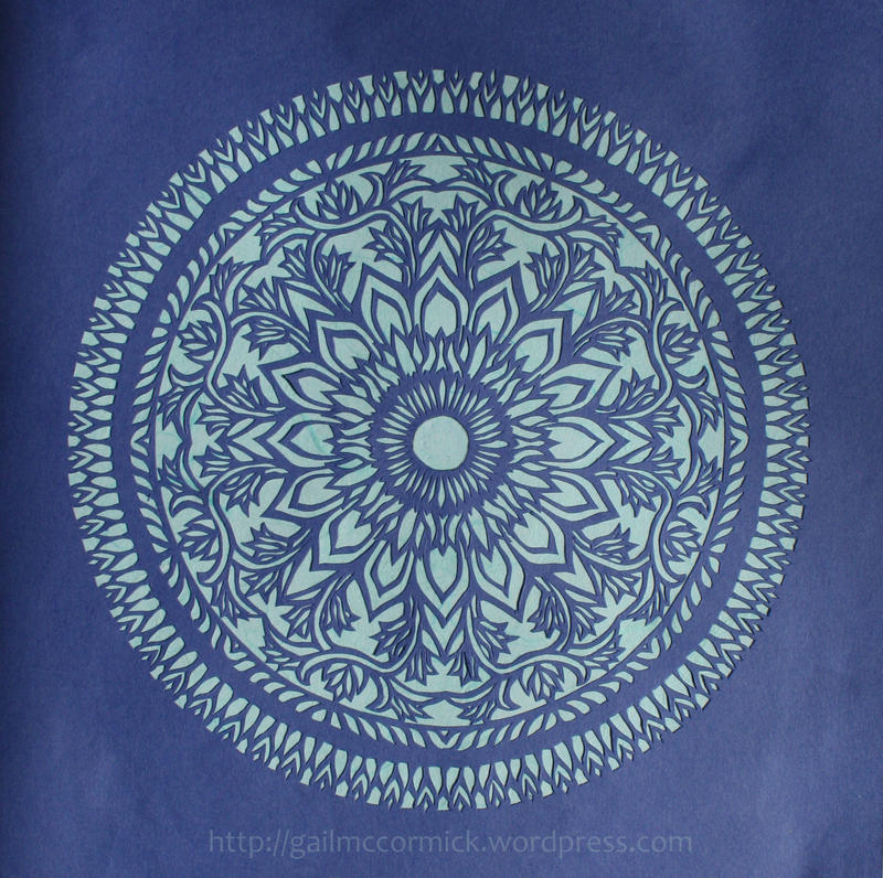 Mandala 12 - flowers by zippybluedwarf