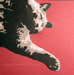 Fat Cat - Paper Cut