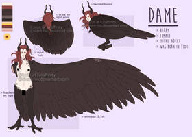 Dame the Harpy by silent-hiII