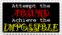 """Attempt the Absurd"" Stamp by MotleyDreams"