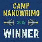 Camp NaNoWriMo 2015 Winner! by MotleyDreams