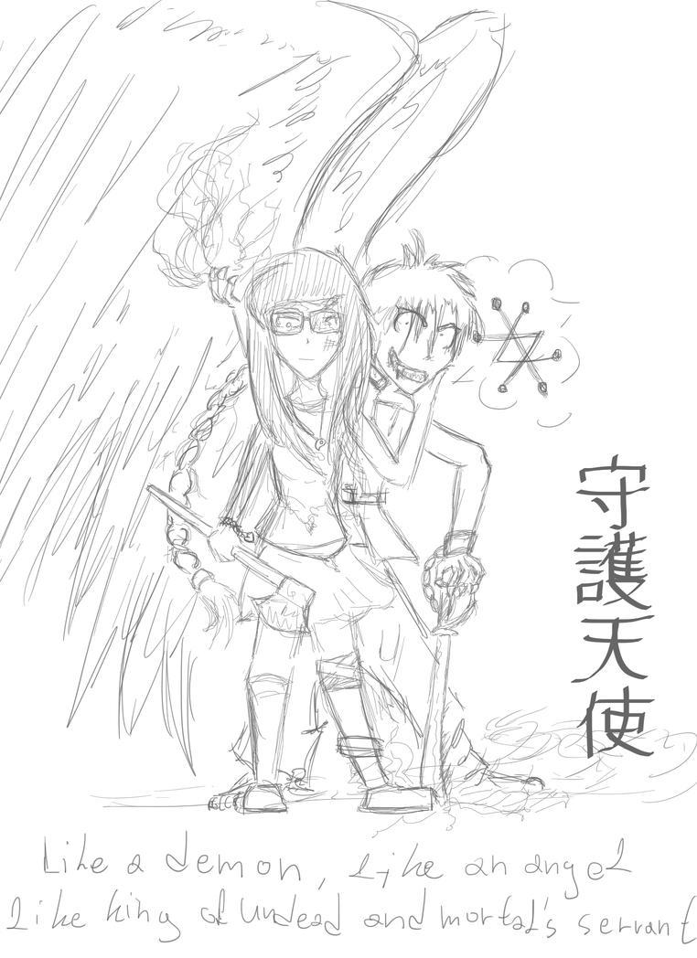 Something for my manga by ZasawakiKayji