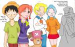 One Piece: Meddling kids