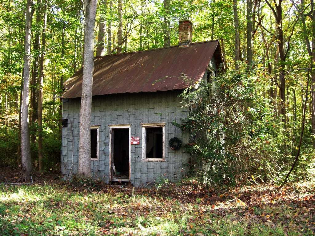Little blue house in the woods 3 by chershow on deviantart - The house in the woods ...