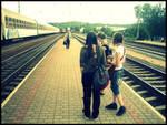 Train Station. by sekanti