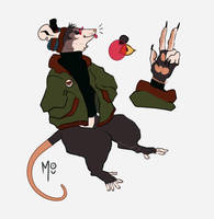felix thy possum by Seehara