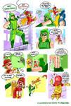 Dia 12 Antena Roja Y Green Arrow by RichDalt