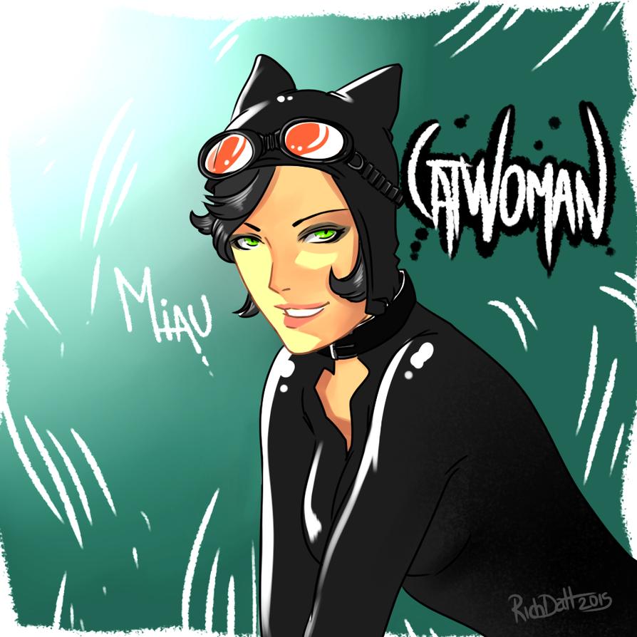 Catwoman by RichDalt