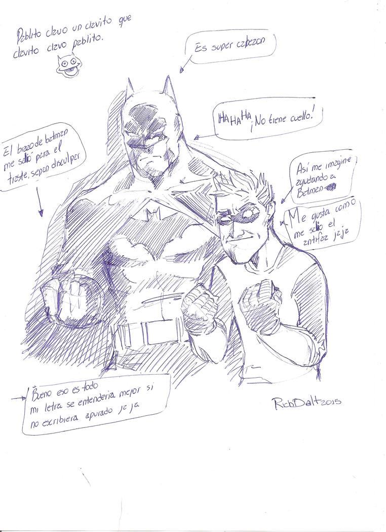 Bat y Dan by RichDalt