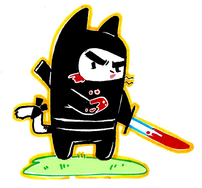 Gato Ninja by RichDalt