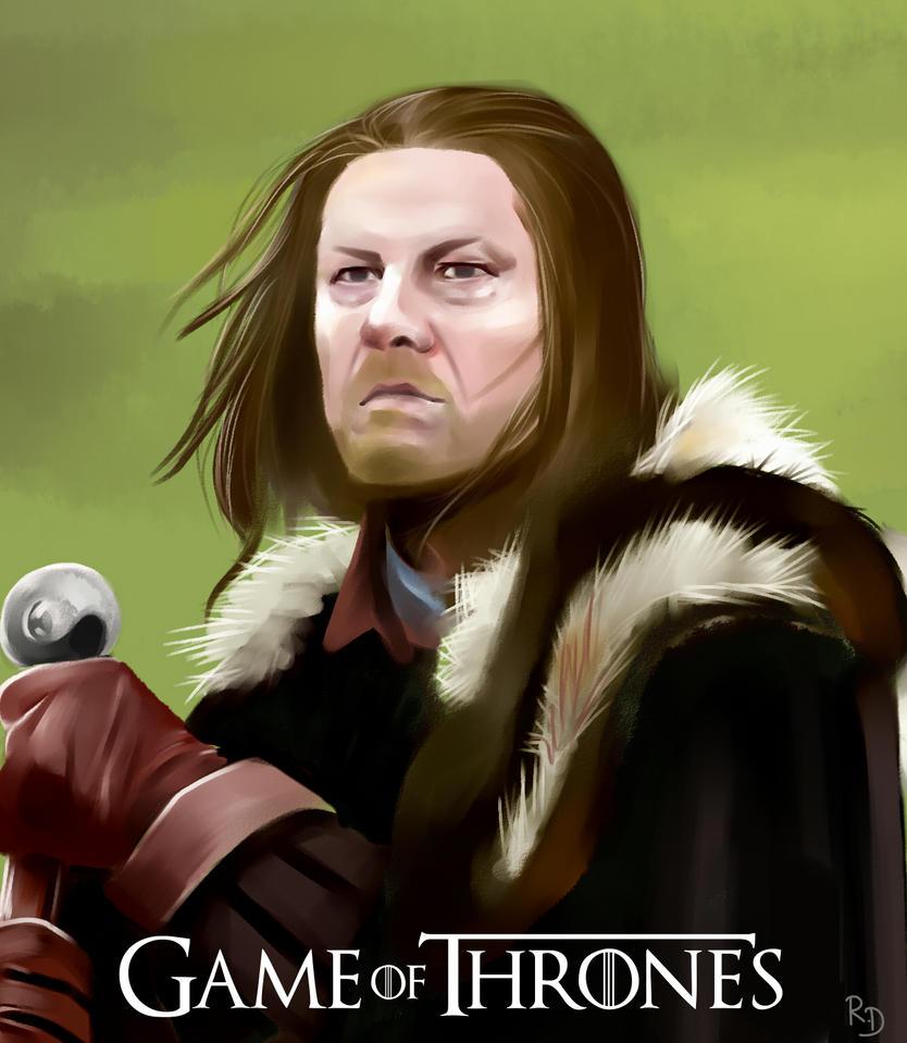 el rey Stark by RichDalt