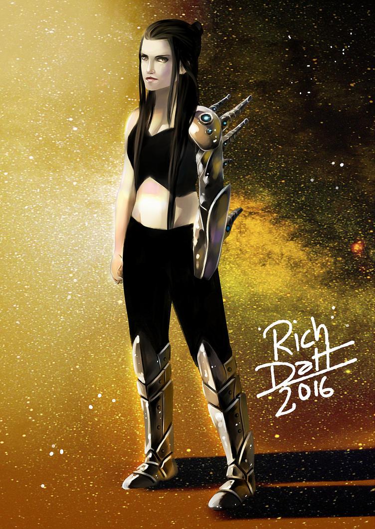 La del brazo loco by RichDalt