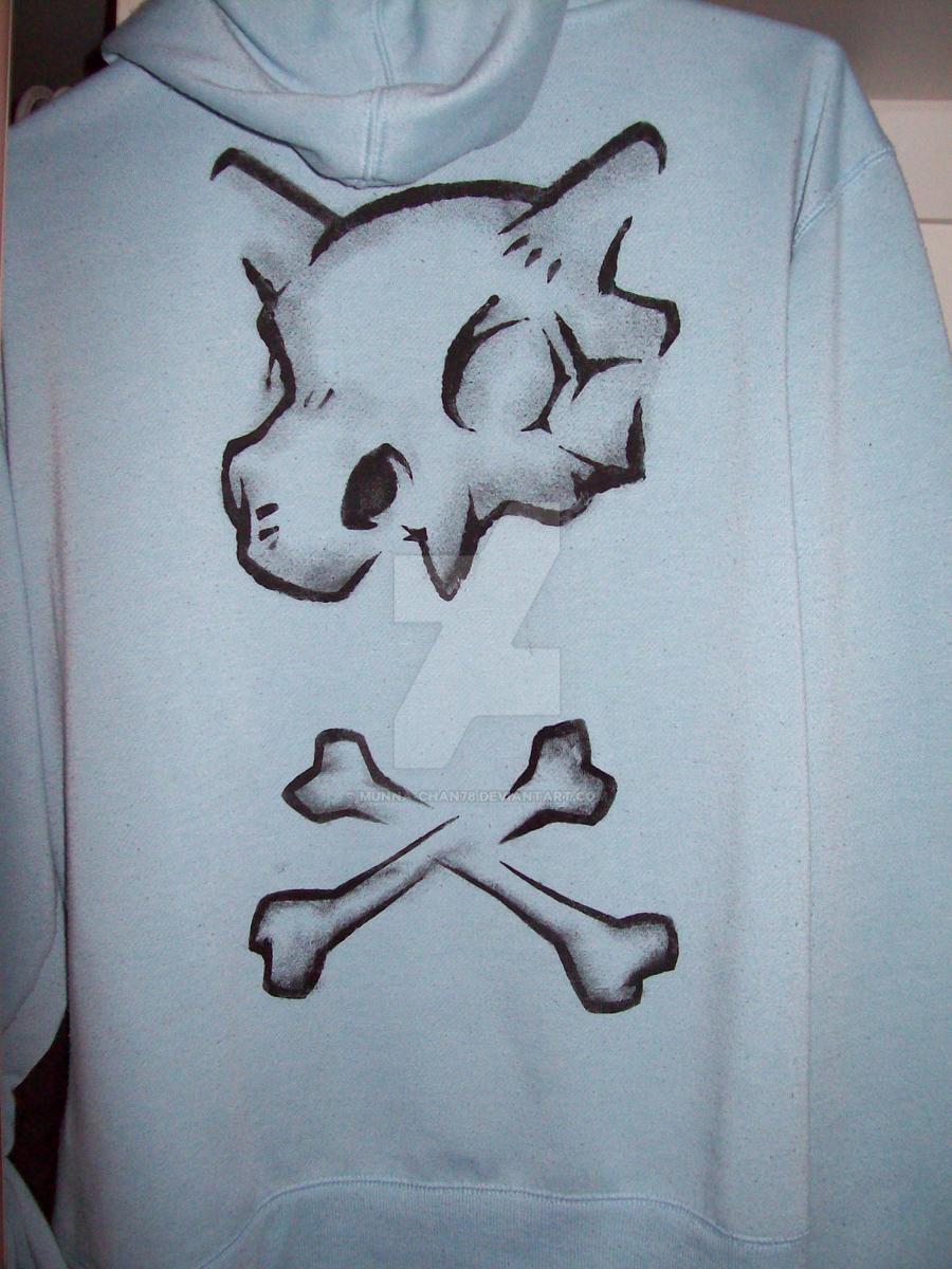 cubone jumper print by munna-chan78