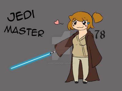 Jedi Master Maddi 01 by munna-chan78
