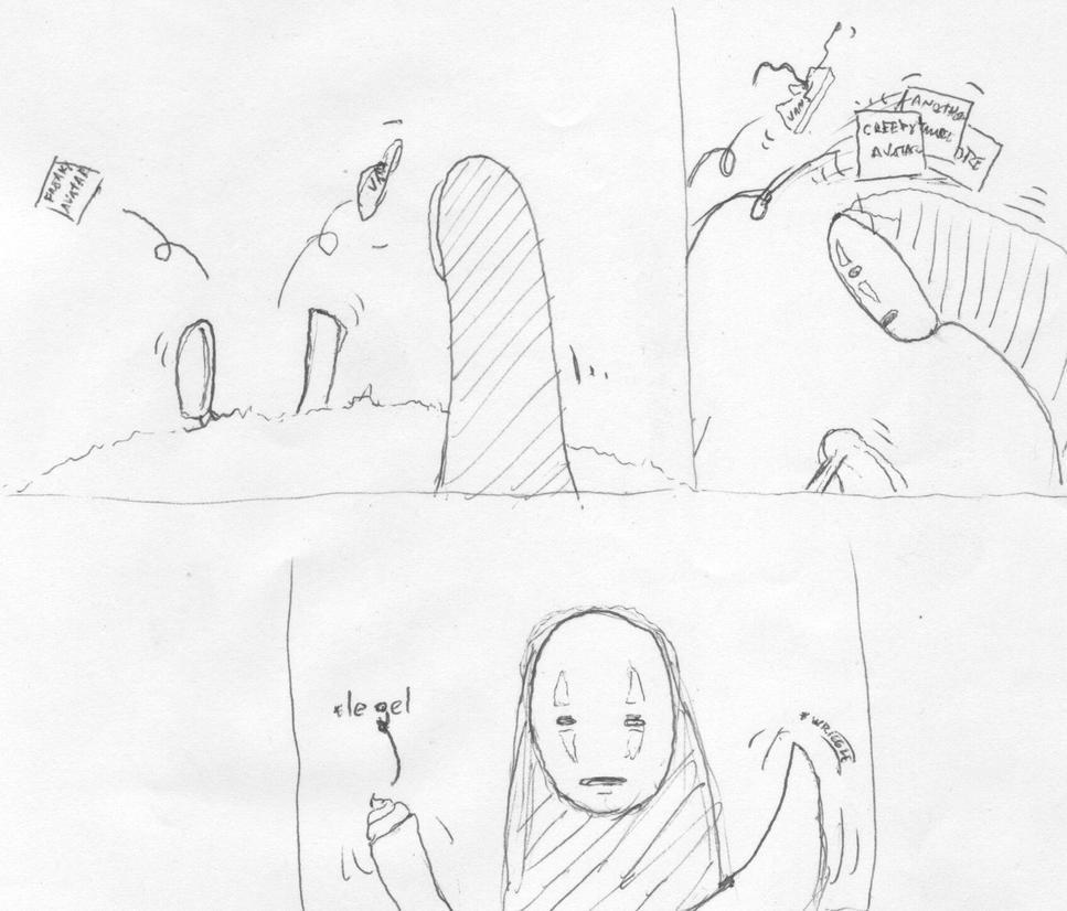 God, why... by GolliatTaillog