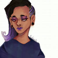 Sombra (with speedpaint)