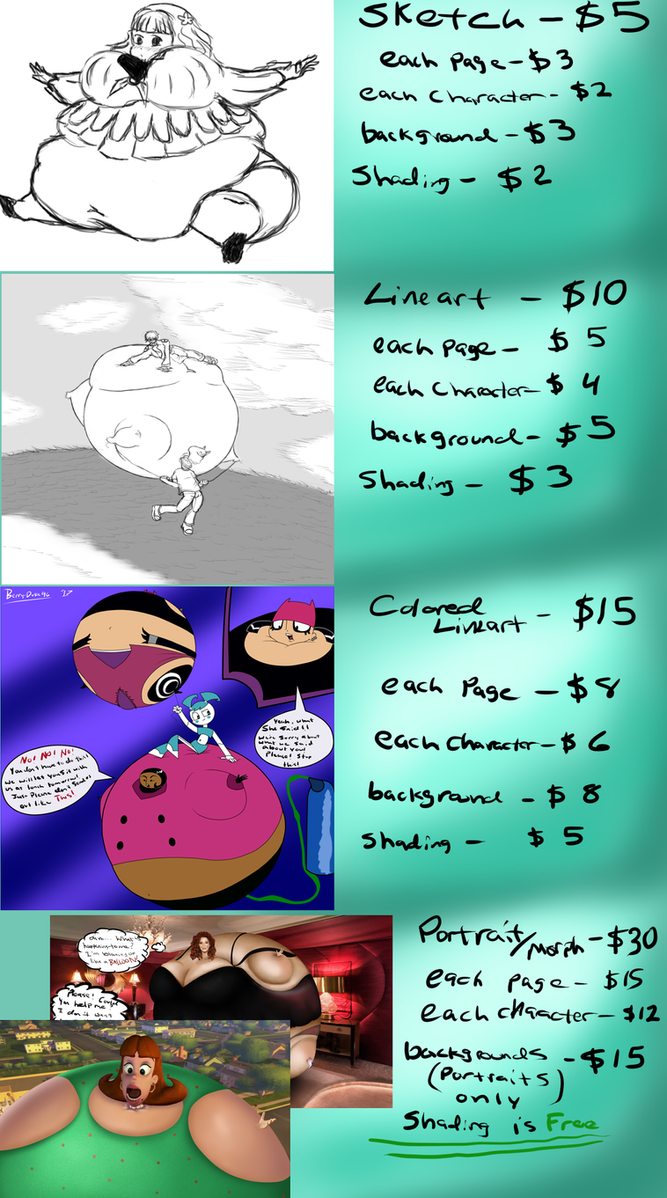 commission price list Spring 2017 by berry-duke96